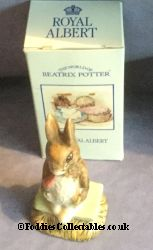 Royal Albert Beatrix Potter Fierce Bad Rabbit quality figurine
