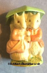 Royal Albert Beatrix Potter Goody And Timmy Tiptoes quality figurine