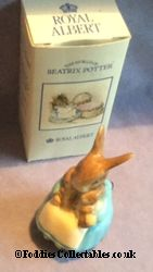 Royal Albert Beatrix Potter Mrs Rabbit And Bunnies quality figurine