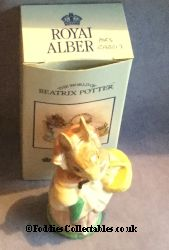 Royal Albert Beatrix Potter Mrs Rabbit quality figurine