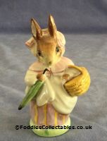 Besick Beatrix Potter Mrs Rabbit With Umbrella Out quality figurine