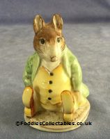 Besick Beatrix Potter Samuel Whiskers quality figurine