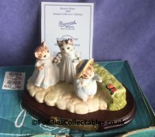 Beswick Beatrix Potter Mittens Tom Kitten And Moppet quality figurine