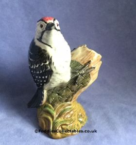 Beswick Bird Lesser Spotted Woodpecker quality figurine