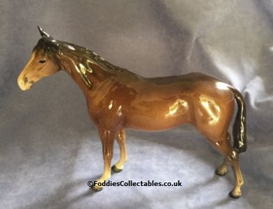 Beswick Horses Racehorse Brown quality figurine
