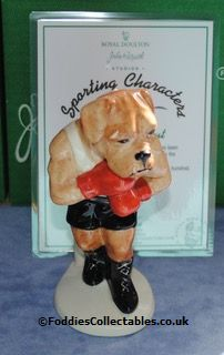 Beswick Sporting Characters Its A Knockout quality figurine