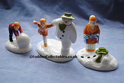 Coalport Snowman Collection 3