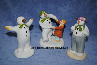 Coalport Snowman Collection 4