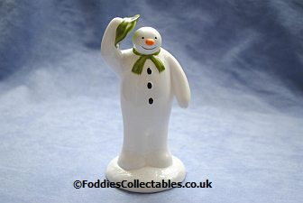 Coalport Snowman The Greeting quality figurine
