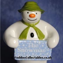 Coalport Snowman The Welcome quality figurine
