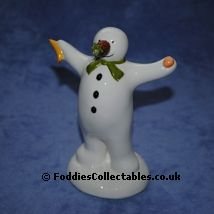 Coalport Snowman The Wrong Nose quality figurine