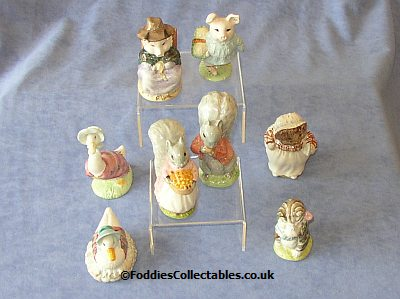 Beatrix Potter Figurines from Royal Albert