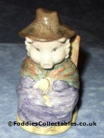 Royal Albert Beatrix Potter And This Pig Had None quality figurine