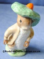 Royal Albert Beatrix Potter Benjamin Bunny quality figurine