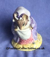 Royal Albert Beatrix Potter Lady Mouse Made A Curtsy quality figurine