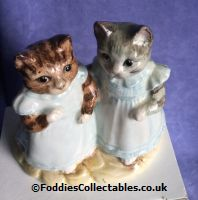 Royal Albert Beatrix Potter Mittens And Moppet quality figurine