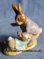 Royal Albert Beatrix Potter Mr Benjamin Bunny And Peter quality figurine