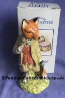 Royal Albert Beatrix Potter Mr Tod quality figurine