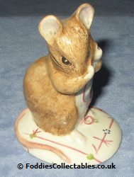 Royal Albert Beatrix Potter No More Twist quality figurine