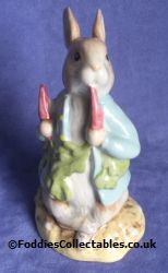 Royal Albert Beatrix Potter Peter Ate A Raddish quality figurine