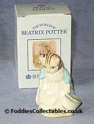 Royal Albert Ribby And The Patty Pan quality figurine