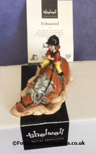 Royal Doulton Thelwell Exchausted 1 quality figurine