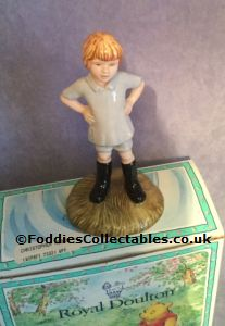 Royal Doulton Winnie The Pooh Christopher Robin Wp9 quality figurine