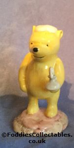 Royal Doulton Pooh Lights The Candle