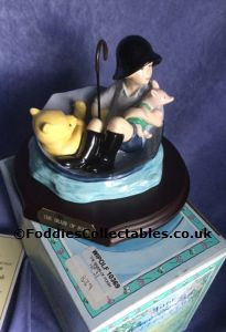 Royal Doulton Winnie The Pooh The Brain Of Pooh quality figurine